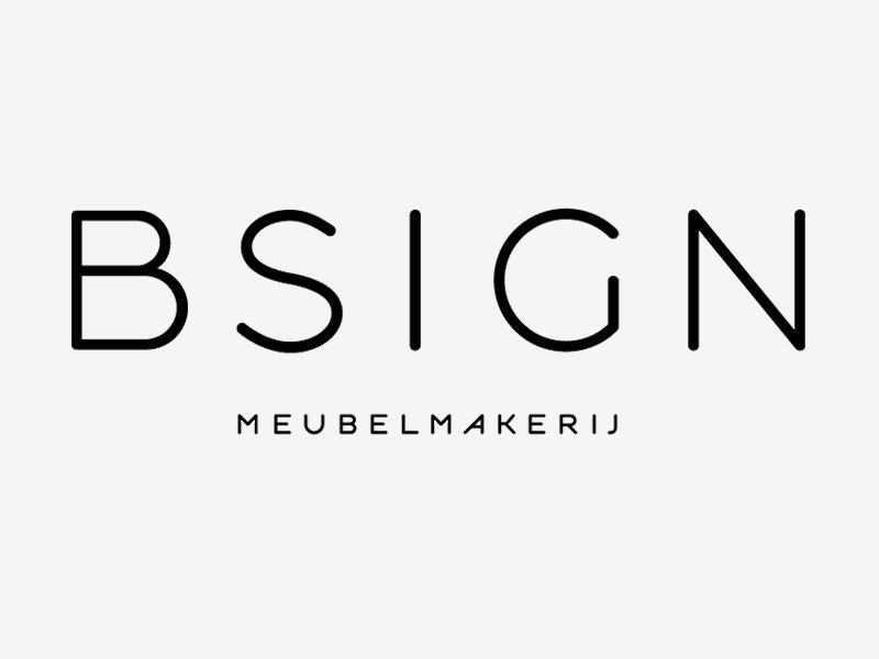 Logo ontwerp Bsign meubelontwerper